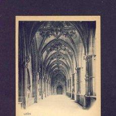 Postales: POSTAL DE LEON: CATEDRAL, CLAUSTRO (HAUSER Y MENET NUM.817). Lote 5924619