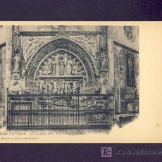Postales: POSTAL DE LEON: CATEDRAL, SEPULCRO DEL REY D.ORDOÑO (HAUSER Y MENET NUM.1303). Lote 5924643