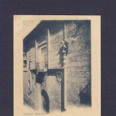 Postales: POSTAL DE CIUDAD RODRIGO (SALAMANCA): PALACIO DE LA CONDESA DE CANILLEROS (HAUSER Y MENET 491). Lote 5946110