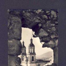 Postales: POSTAL DE OLVERA (SORIA): PARROQUIA DESDE EL CASTILLO (FOTO FOTO CUBILES NUM.6). Lote 5951804