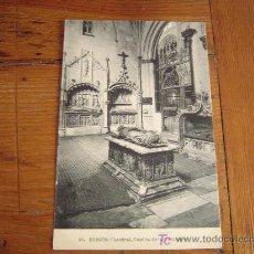 Postales: POSTAL DE BURGOS.45 CATEDRAL, CAPILLA DE LA VISITACIÓN. Lote 6307846