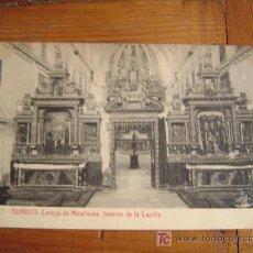 Postales: POSTAL DE BURGOS.1 CARTUJA DE MIRRAFLORES. INTERIOR DE LA CAPILLA. Lote 6307882