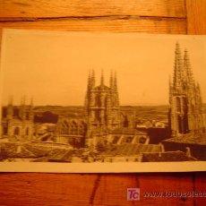 Postales: POSTAL DE BURGOS.CATEDRAL,DESDE SAN ESTEBAN. Lote 6308079