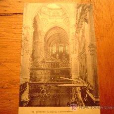 Postales: POSTAL DE BURGOS.24 CATEDRAL,NAVE CENTRAL. Lote 6308098