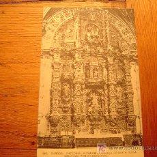 Postales: POSTAL DE BURGOS. CATEDRAL146 ALTAR DE LA CAPILLA DE SANTA TECLA SIGLO XVLLL POR CHURRIGUERA. Lote 6308221