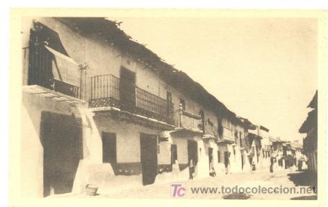 RIZA ... CALLE DE CERVANTES (Postales - España - Castilla y León Antigua (hasta 1939))