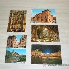 Postales: LOTE 5 POSTALES DE SALAMANCA ,CERVANTES SECCION PAPELERIA SALAMANCA. Lote 6836906