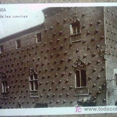 Postales: SALAMANCA - LA CASA DE LAS CONCHAS. Lote 26762736