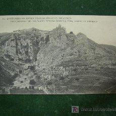 Postales: POSTAL SANTUARIO DE SANTA CASILDA BRIVIESCA, BURGOS, VISTA GENERAL DESDE LA PEÑA, CAMINO BRIVIESCA. Lote 20598874