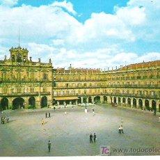 Postales: 87- SALAMANCA ***PLAZA MAYOR *** SALVADOR BARRUECO *** SIN CIRCULAR. Lote 6999089