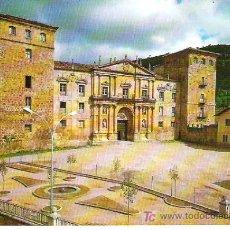 Postales: 3- OÑA *** BURGOS , FACHADA DE MONASTERIO*** SIN CIRCULAR *** EDICIONES SICILIA. Lote 6999117