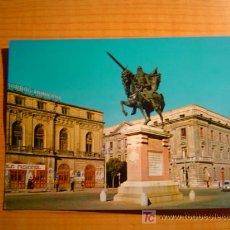 Postales: POSTAL BURGOS MONUMENTO AL CID CAMPEADOR. Lote 7036335