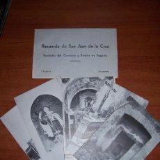 Postales: SEGOVIA SN JUAN DE LA CRUZ. Lote 7070040