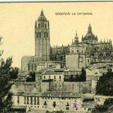 Postkarten - POSTAL SEGOVIA LA CATEDRAL - 7286925