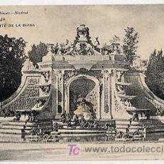 Postais: SEGOVIA. LA GRANJA, FUENTE DE LA DIANA (). HAUSER Y MENET 795. ANT. A 1905. SIN CIRCULAR. Lote 7372521