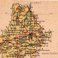Postales: AVILA , ALBERTO MARTIN, EDITOR BARCELONA, MAPA PROVINCIA. Lote 7745546