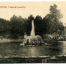 Postales: LA GRANJA - FUENTE DEL CANASTILLO- 1027 FOTOTIPIA THOMAS-BARCELONA. Lote 8363808
