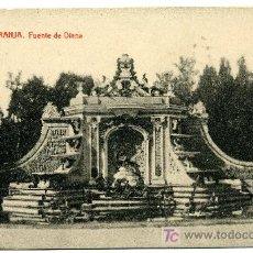 Postales: LA GRANJA - FUENTE DE DIANA - 1024 FOTOTIPIA THOMAS-BARCELONA. Lote 8363810