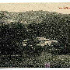 Postales: LA GRANJA - EL MAR- 1019 FOTOTIPIA THOMAS-BARCELONA. Lote 8363858