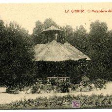Postales: LA GRANJA - EL MERENDERO DEL HUERTECILLO - 1035 FOTOTIPIA THOMAS-BARCELONA. Lote 8363865