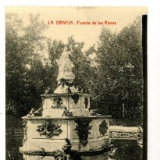 Postales: LA GRANJA - FUENTE DE LAS RANAS - 1030 FOTOTIPIA THOMAS-BARCELONA. Lote 8363886