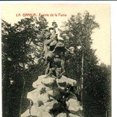 Postales: LA GRANJA - FUENTE DE LA FAMA - 1023 FOTOTIPIA THOMAS-BARCELONA. Lote 8363889