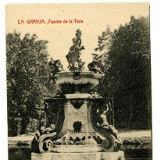 Postales: LA GRANJA - FUENTE DE LA TAZA - 1023 FOTOTIPIA THOMAS-BARCELONA. Lote 8363914