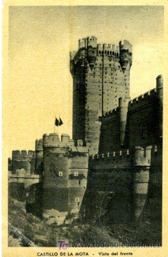 CASTILLO DE LA MOTA - MEDINA DEL CAMPO (Postales - España - Castilla y León Moderna (desde 1940))
