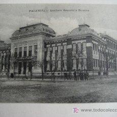 Postales: PALENCIA. INSTITUTO GENERAL Y TECNICO. FOTO ALONSO. Lote 26938977