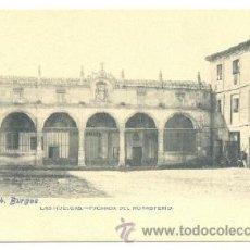 Postales: POSTAL BURGOS .. LAS HUELGAS .. FACHADA DEL MONASTERIO. Lote 25811006