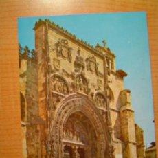Postales: POSTAL ARANDA DEL DUERO FACHADA DE SANTA MARIA SIN CIRCULAR. Lote 9223559