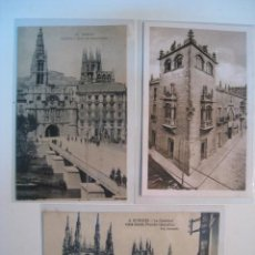 Postales - LOTE POSTALES BURGOS: CATEDRAL, CORDON, PUENTE Y ARCO - 9256997