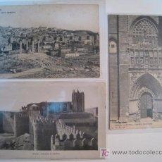 Postales - LOTE POSTALES AVILA: MURALLAS, CATEDRAL, V GENERAL - 9257014