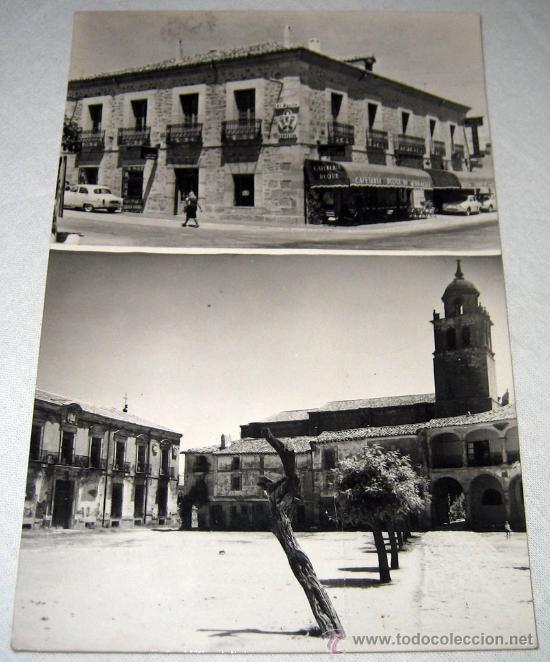 ANTIGUA POSTAL DE MEDINACELI - SORIA - PLAZA DE LA VILLA - HOSTAL DUQUE DE MEDINACELI - EDICIONES VI (Postales - España - Castilla y León Antigua (hasta 1939))