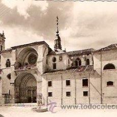 Postales: POSTAL BURGO DE OSMA ( SORIA ) LA CATEDRAL . Lote 9439364