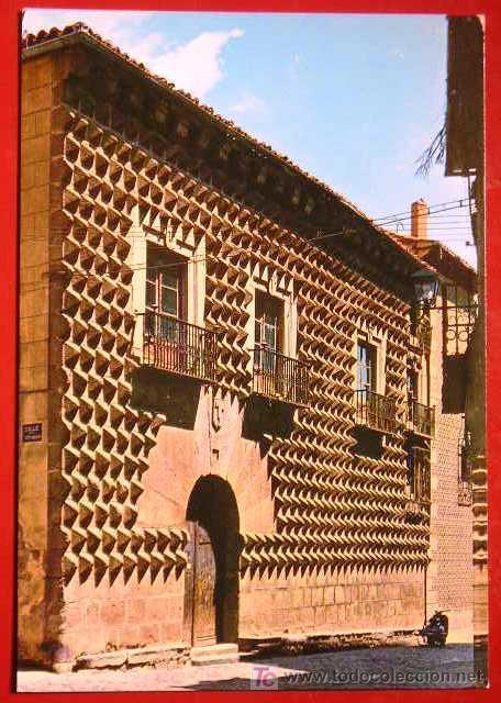 SEGOVIA. CASA DE LOS PICOS. (Postales - España - Castilla y León Moderna (desde 1940))