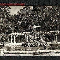 Postales: POSTAL DE VALLADOLID: CAMPO GRANDE, FUENTE DEL CISNE (ED.ARBONÉS NUM.IN-4). Lote 1264445