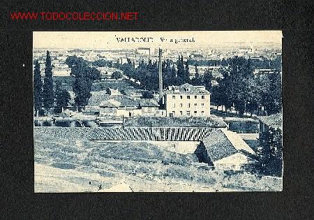 POSTAL DE VALLADOLID: VISTA GENERAL (GRAFOS) (Postales - España - Castilla y León Antigua (hasta 1939))