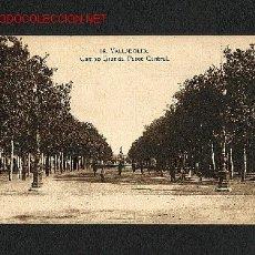 Postales: POSTAL DE VALLADOLID: CAMPO GRANDE, PASEO CENTRAL (EL TOISON NUM.14). Lote 1264610