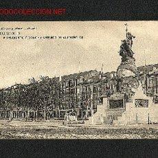 Postales: POSTAL DE VALLADOLID: MONUMENTO A COLON Y AVENIDA DE ALFONSO XIII (HAUSER Y MENET 1174). Lote 1264669