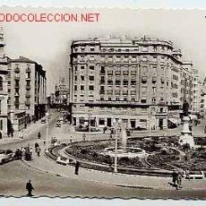 Postales: VALLADOLID. PLAZA DE ZORRILLA Y CALLE DE SANTIAGO, A LA DERECHA. Nº 382. EDICIONES GARCÍA GARRABELLA. Lote 5792799