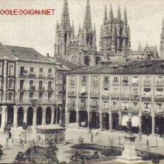Postales: TARJETA POSTAL DE BURGOS Nº6. PLAZA MAYOR.. Lote 5358352