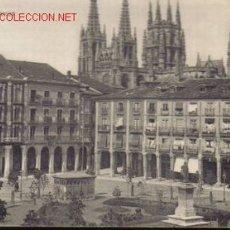Postales: TARJETA POSTAL DE BURGOS Nº10. PLAZA MAYOR.. Lote 5358327