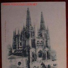 Cartoline: POSTAL RECUERDO DE BURGOS. Lote 23963243