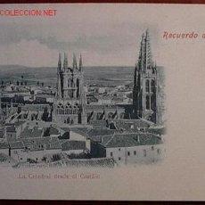 Cartoline: POSTAL RECUERDO DE BURGOS. Lote 25999645