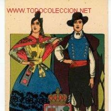 Postales: POSTAL TRAJE REGIONAL DE SALAMANCA.. Lote 2413750