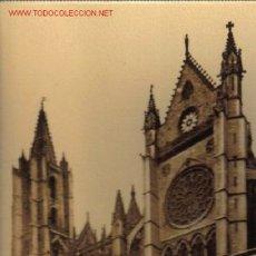 Postales: TARJETA POSTAL DE LEON Nº3 - CATEDRAL (SIGLO XII) FACHADA DEL SUR. Lote 4767690