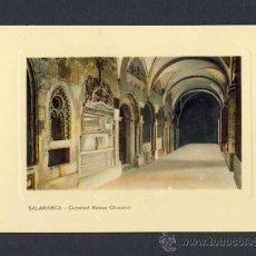 Postales: POSTAL DE SALAMANCA: CATEDRAL NUEVA, CLAUSTRO (ED.LIBR.CUESTA). Lote 10074649