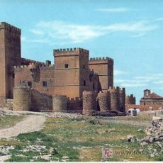 Postales: TARJETA POSTAL DE AMPUDIA (PALENCIA) - CASTILLO SIGLO XIII-XV. Lote 25495917