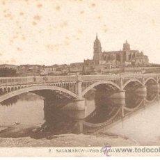 Postales: POSTAL DE SALAMANCA - ESCRITA 6-2-44 SIN SELLO . Lote 23624973